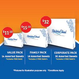 Special Raksha Bandhan Sweets Packs